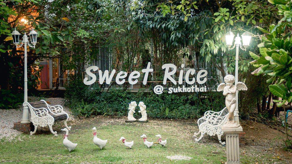 Sukhothai sweet rice
