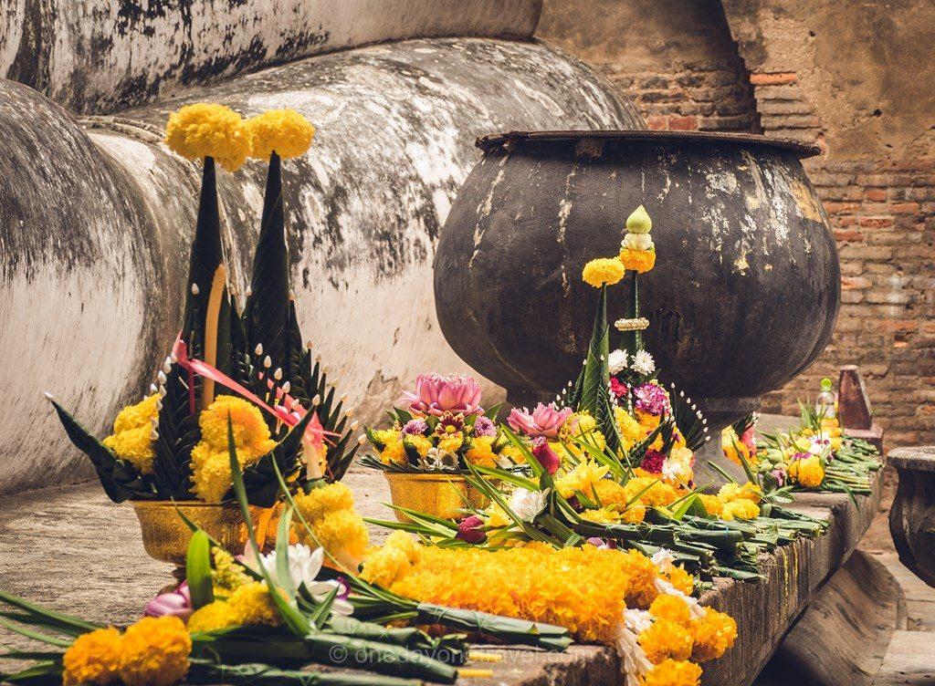 Sukhothai offrandes