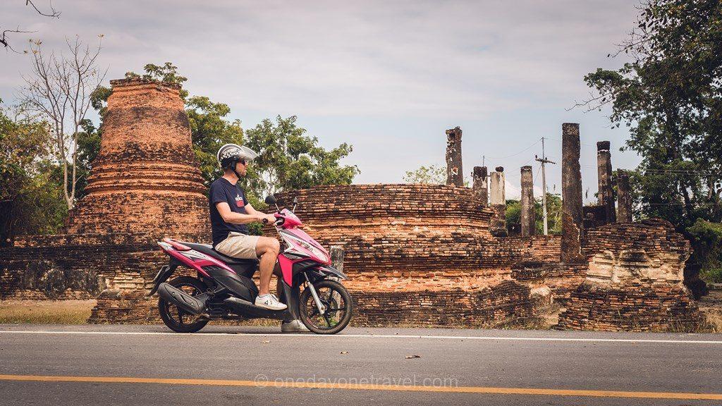 Sukhothai louer un scooter