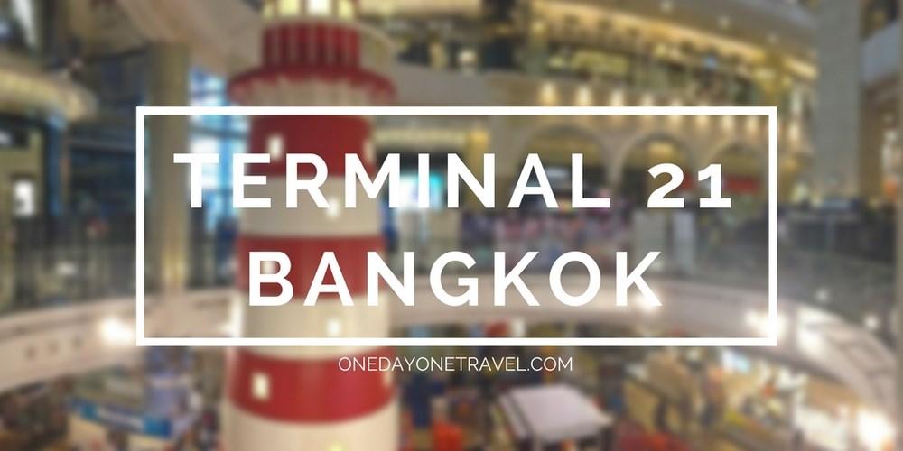 Terminal 21 shopping bangkok blog voyage