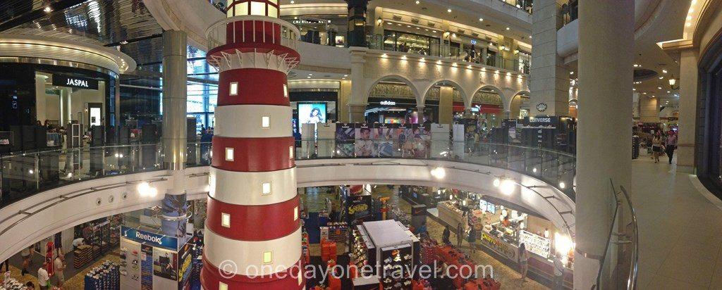 Terminal 21 shopping Bangkok aéroport