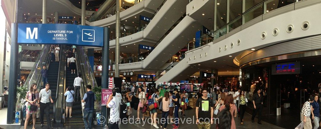 Terminal 21 shopping Bangkok centre commercial