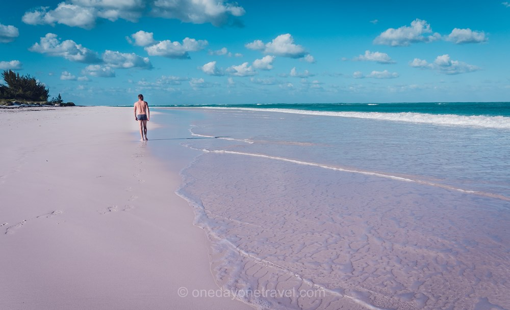 Top Plage Pink Beach Harbour island Bahamas