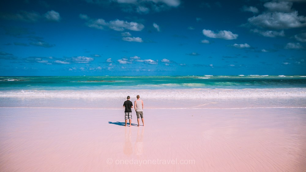 Top Plage plage rose  Harbour island Bahamas