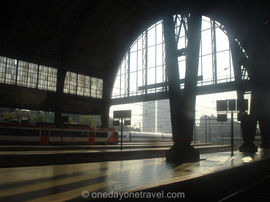 Transports Barcelone Gare Barcelone