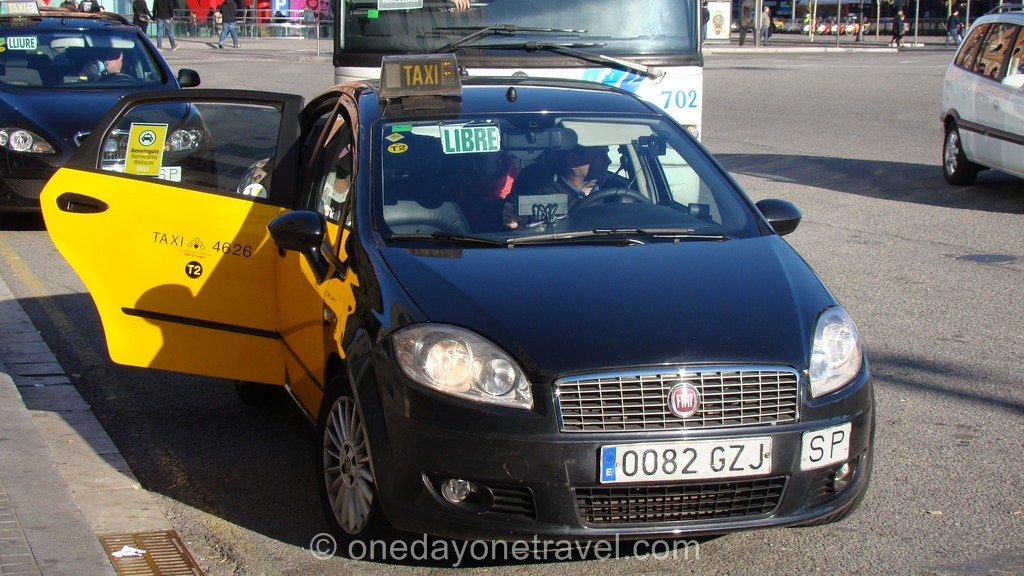 Transports Barcelone Taxi