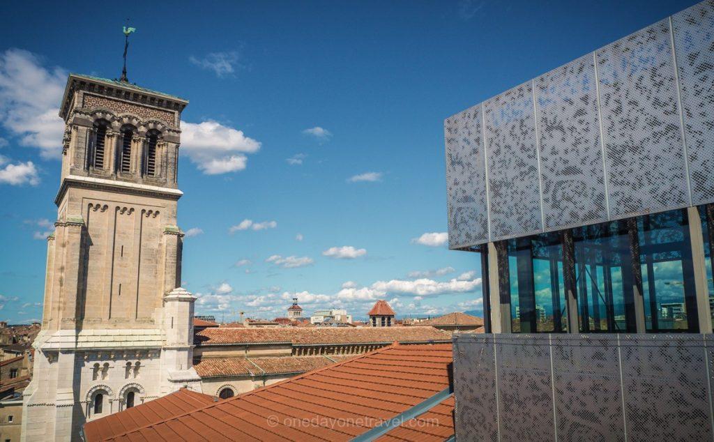 Musée de Valence architecture