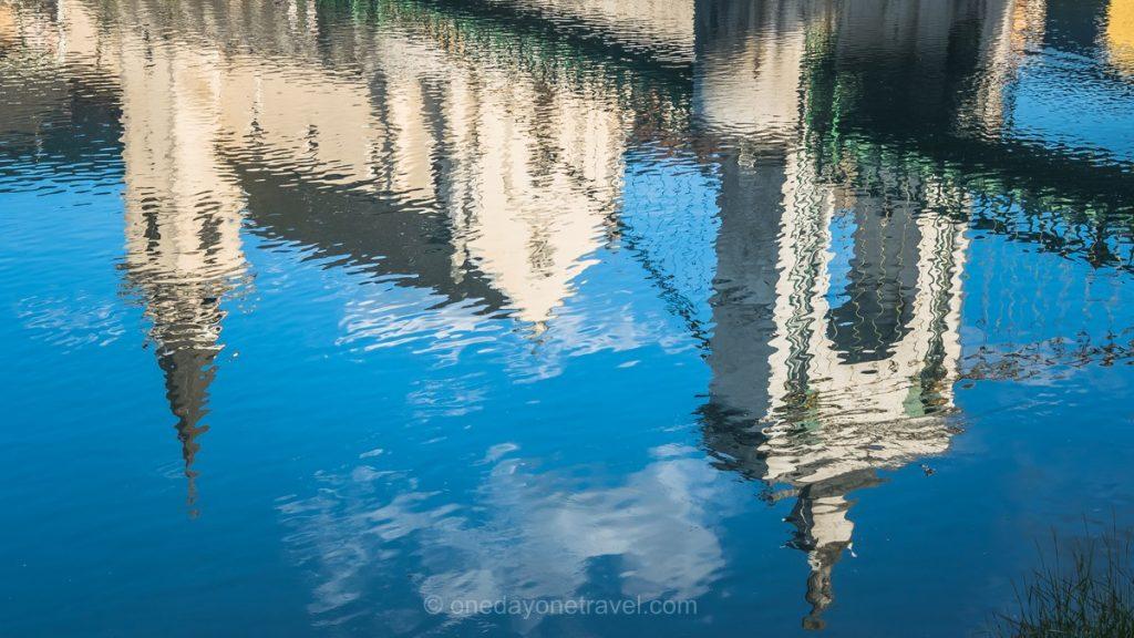 ViaRhona Seyssel Rhone reflet