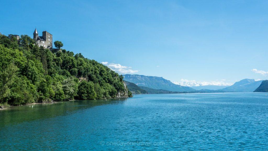 ViaRhona lac bourget manoir