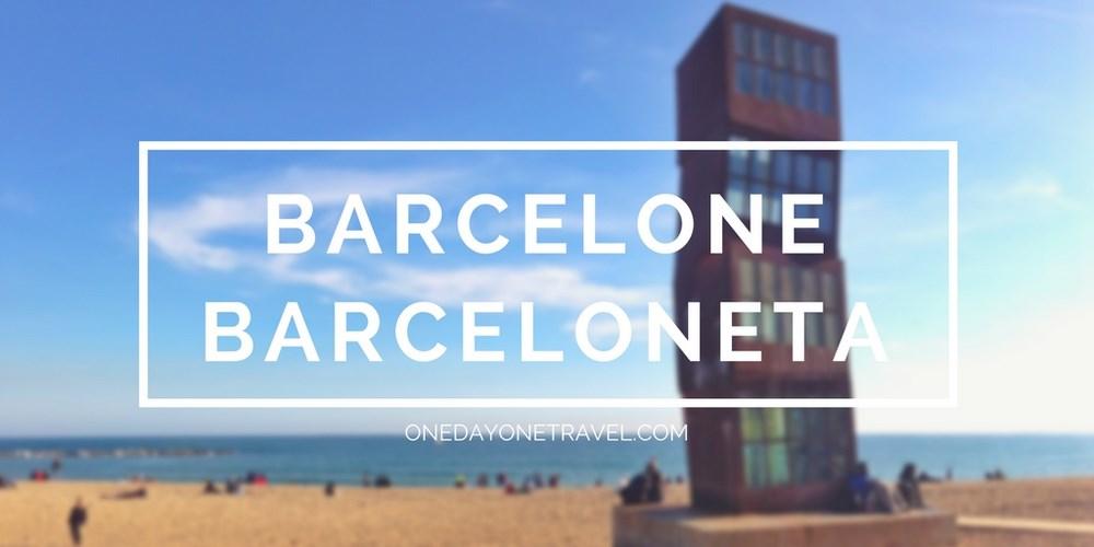 Visite Barceloneta quartier Barcelone blog voyage