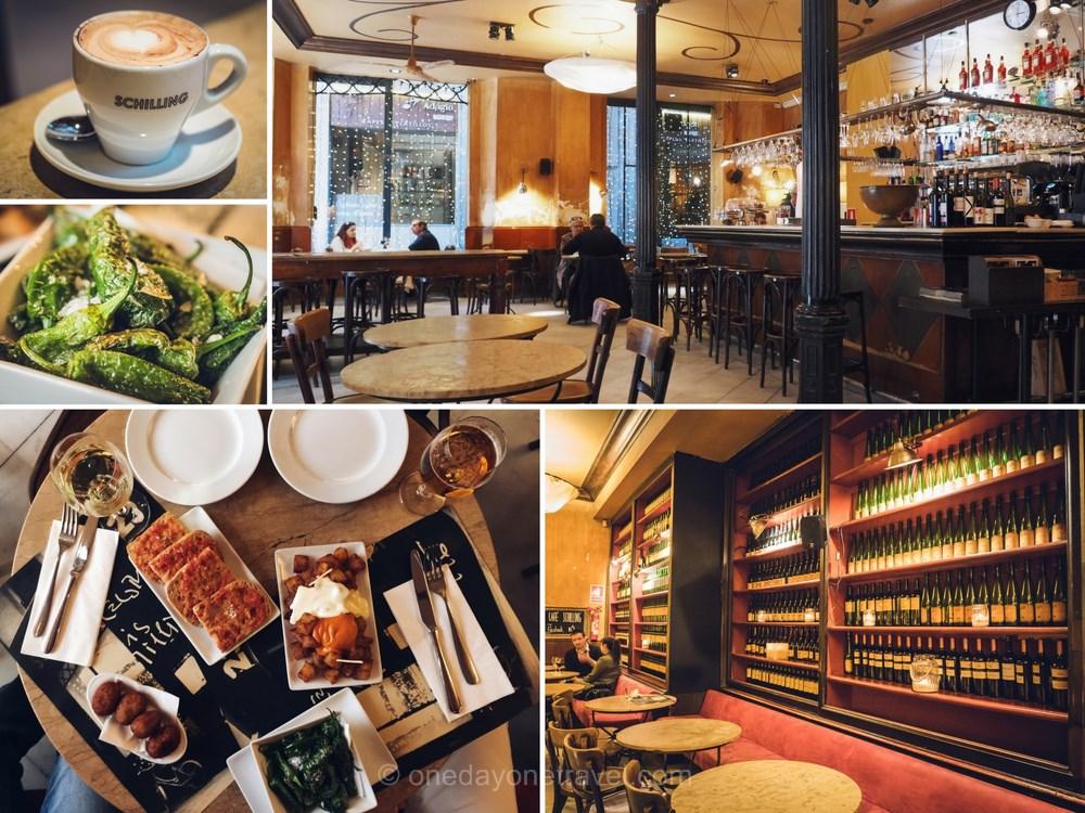 Visiter Barcelone pour la première fois Sagrada Familia Schilling bar