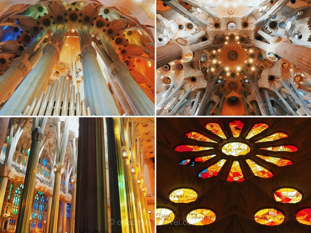 Visiter Barcelone pour la première fois Sagrada Familia lumière