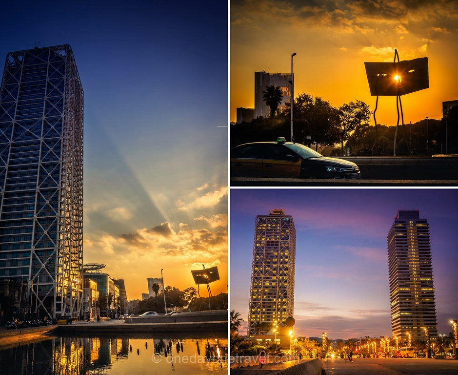 Visiter Barcelone pour la première fois port Olympique