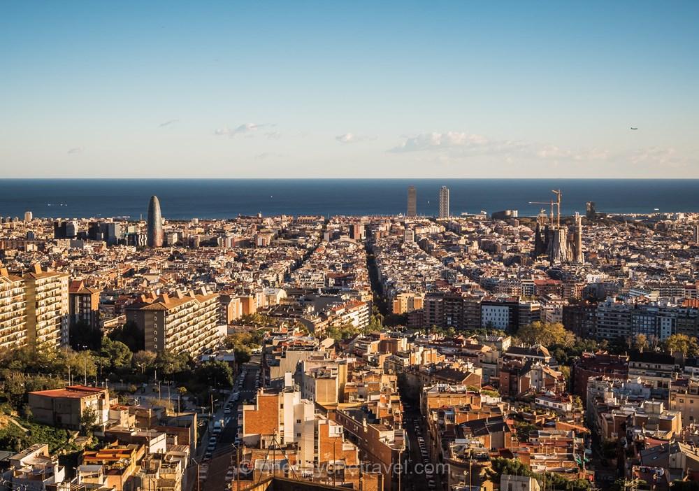 Visiter Barcelone pour la première fois vue