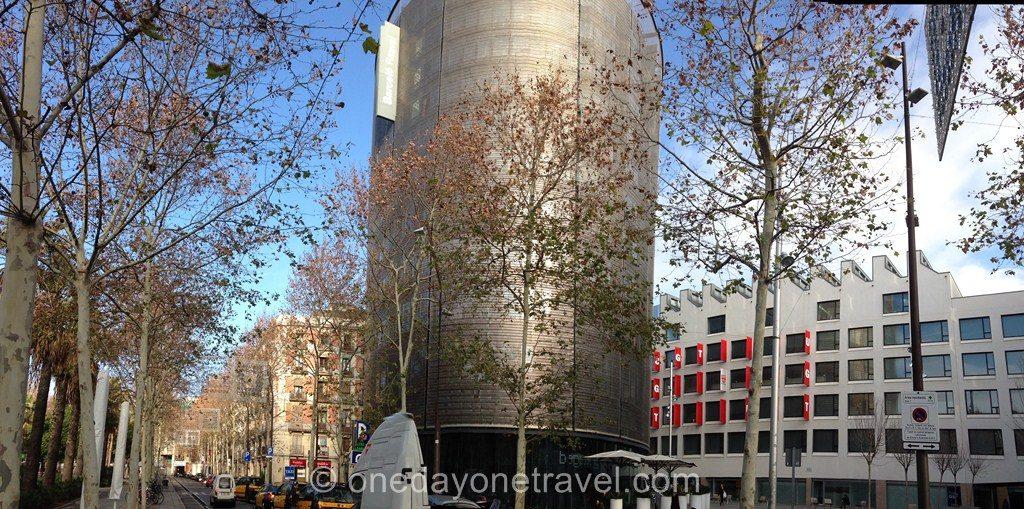 Visiter le quartier du raval Barcelone Barcelo hotel