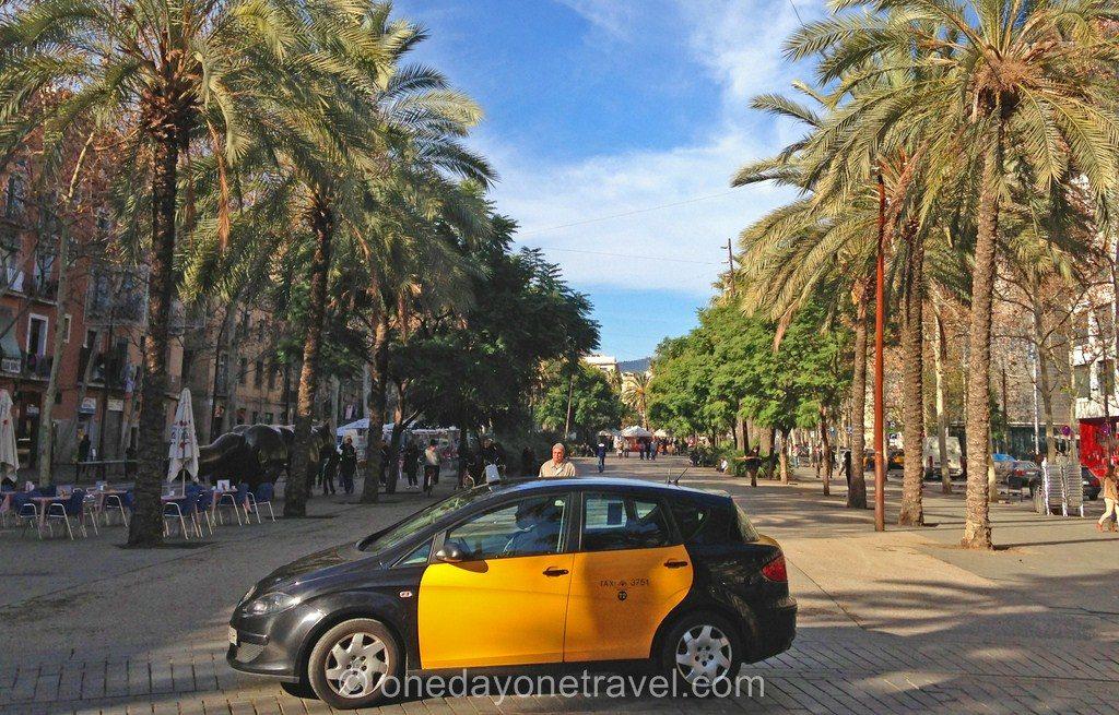 Visiter le quartier du raval Barcelone taxi