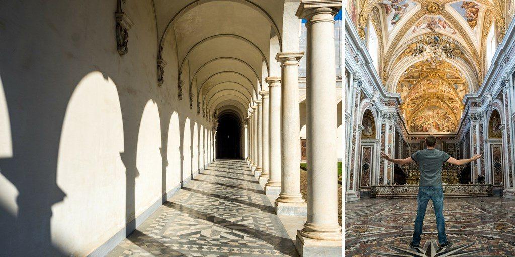 Visiter Naples architecture église