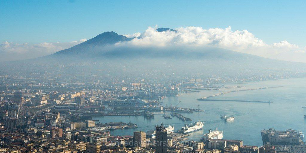 Visiter Naples Vésuve mer