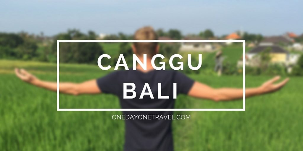 canggu blog voyage Bali Indonésie