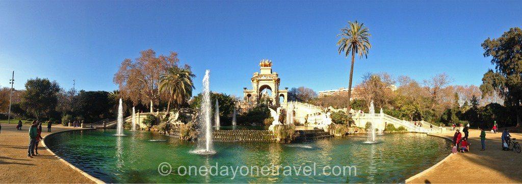 ciutadella cascade barcelone blog voyage