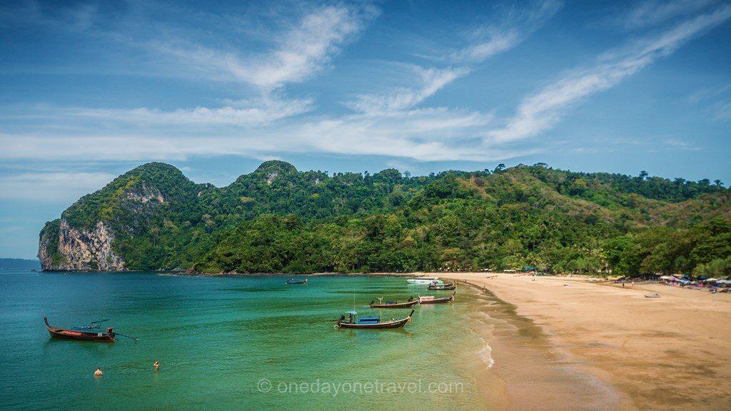 koh Mook Charlie beach plage eau turquoise