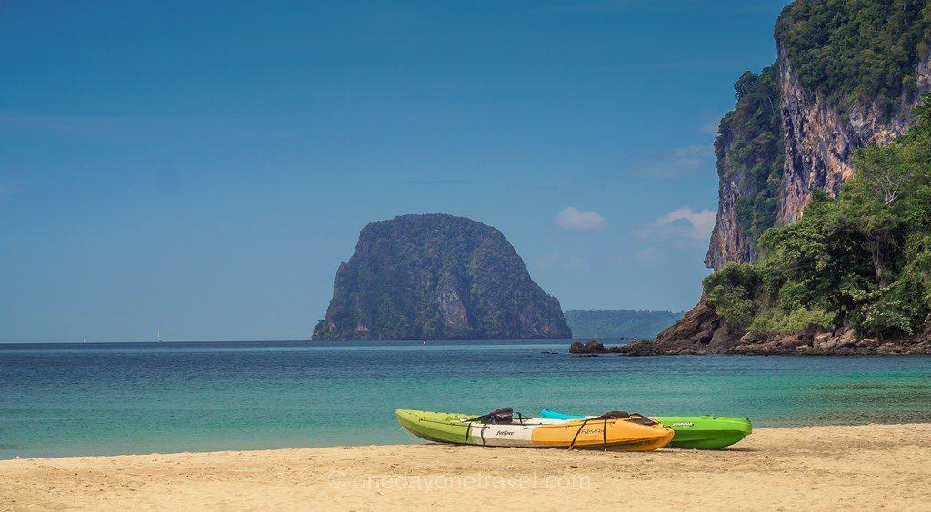 koh Mook kayak Thaïlande Charlie Beach
