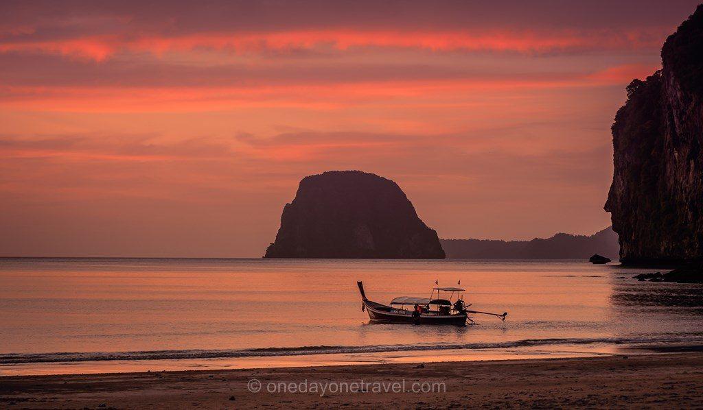 Itinéraire en Thaïlande Voyage de rêve sunset Koh Mook