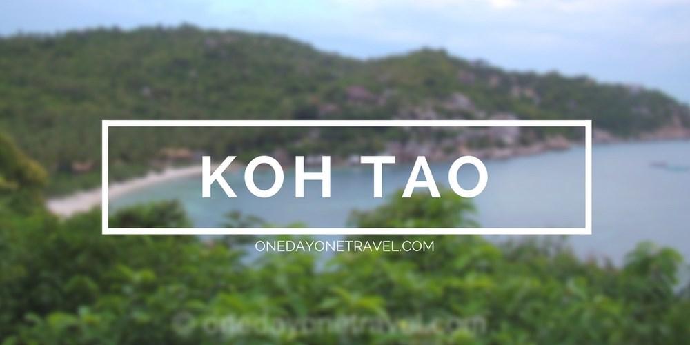 koh tao ile itineraire thailande blog voyage