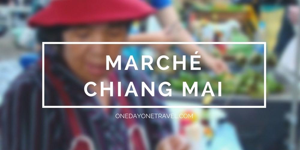 marché dimanche chiang mai blog voyage