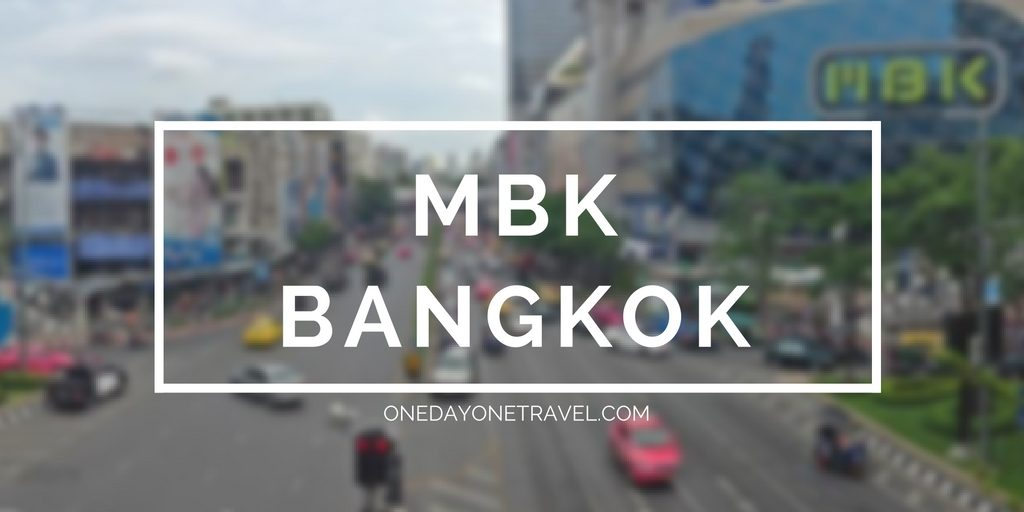 mbk shopping bangkok blog voyage