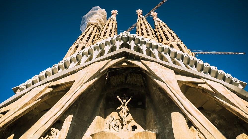 sagrada familia site incontournable Barcelone blog voyage OneDayOneTravel