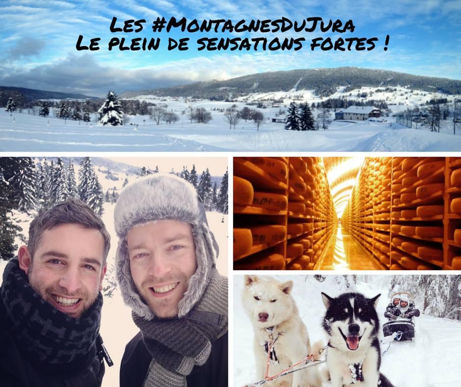 Montagnes du Jura où partir en janvier top destination blog voyage