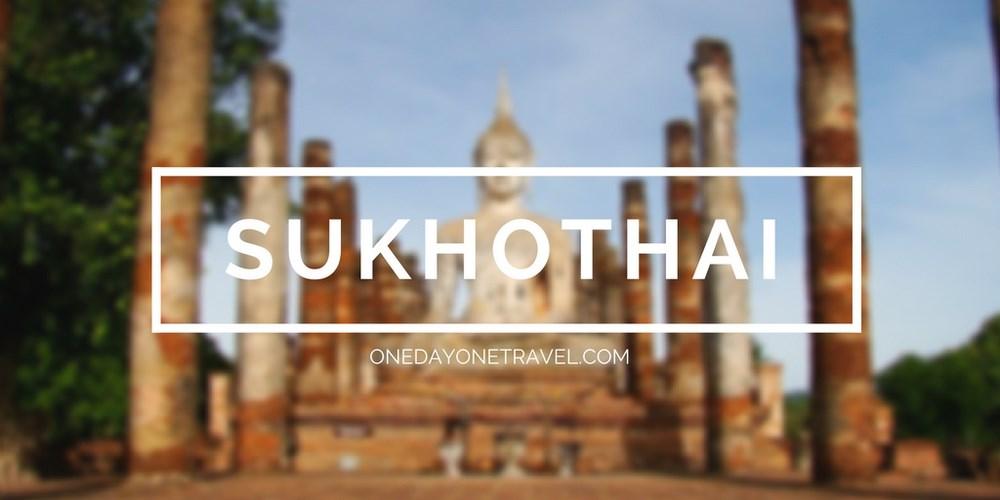 sukhothai itineraire thailande blog voyage