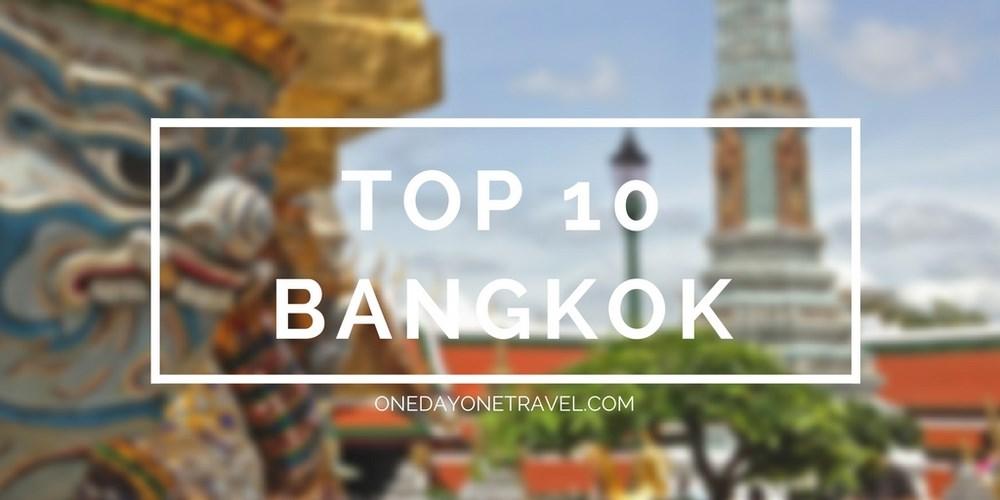 top visite incontournable Bangkok blog voyage