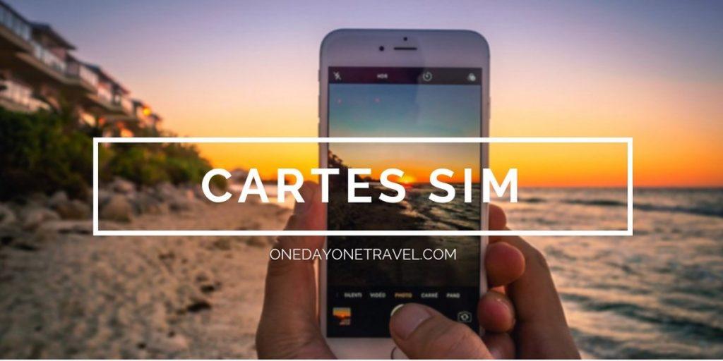 Carte SIM Explod Test et avis blog voyage OneDayOneTravel