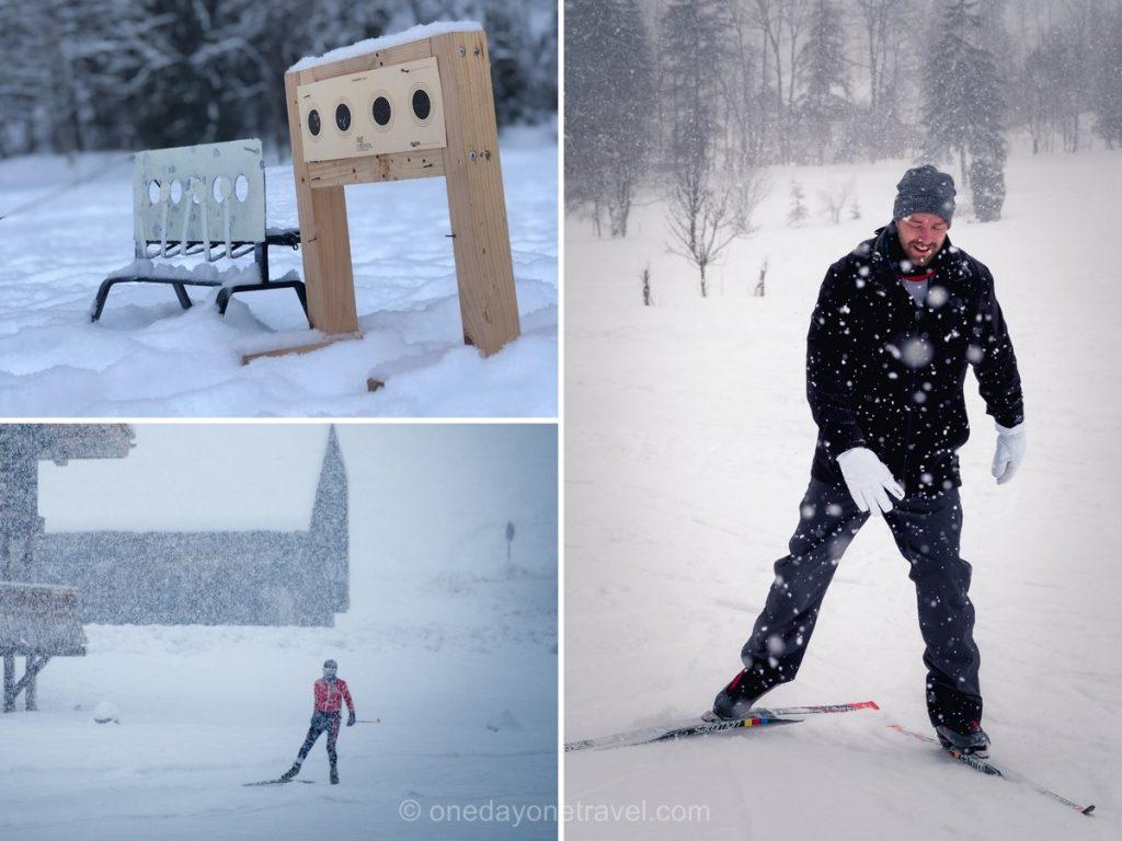 Activité de sport d'hiver au Grand-Bornand : Initiation au biathlon