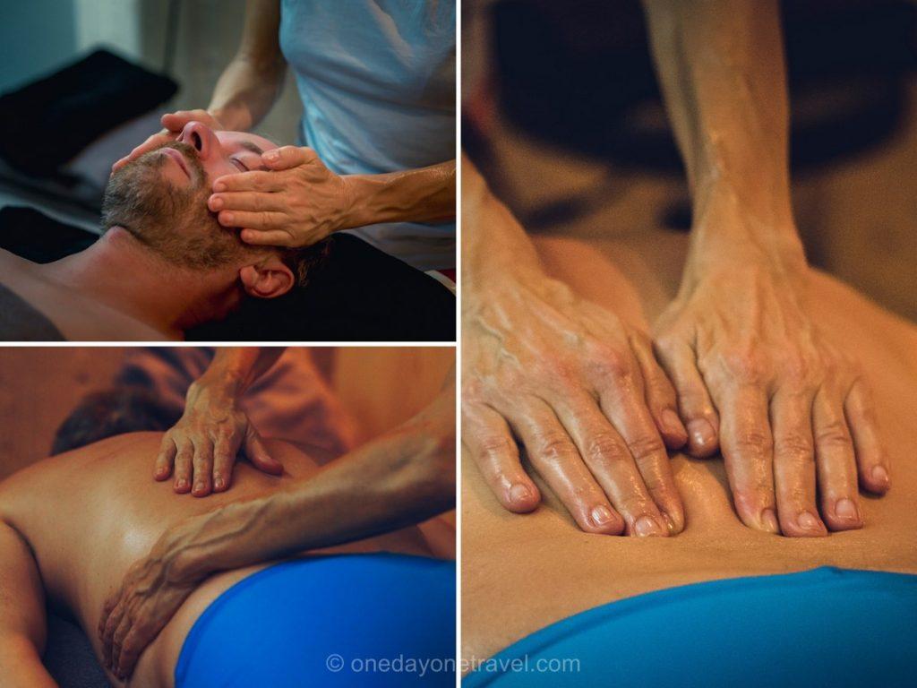 Massage suédois au Grand-Bornand en hiver