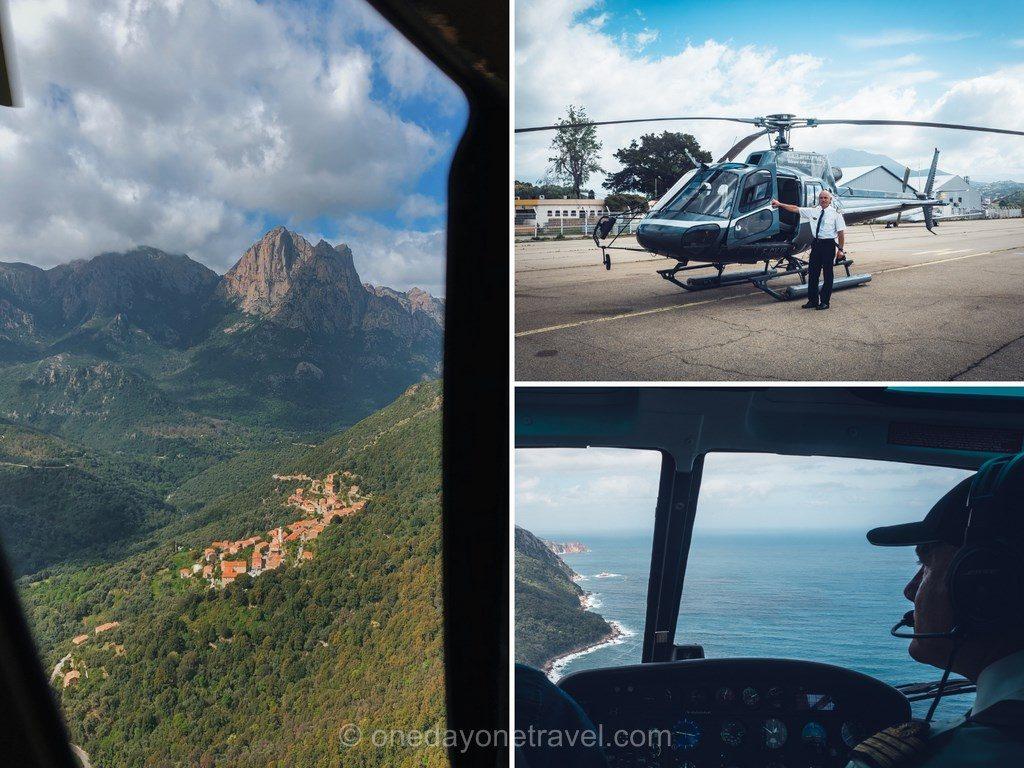 Survol de l'Ouest Corsica en hélicoptère avec Corse Hélicoptère