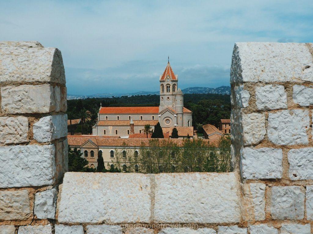 Road trip dans le sud de la France Ile Saint Honorat Abbaye des Lérins