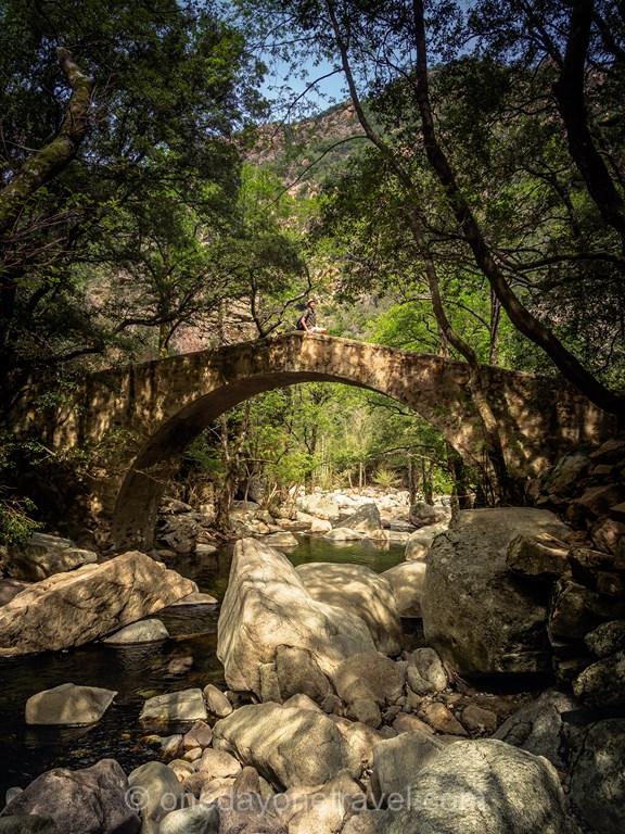 Pont de Zaglia Gorge de la Spelunca Evisa