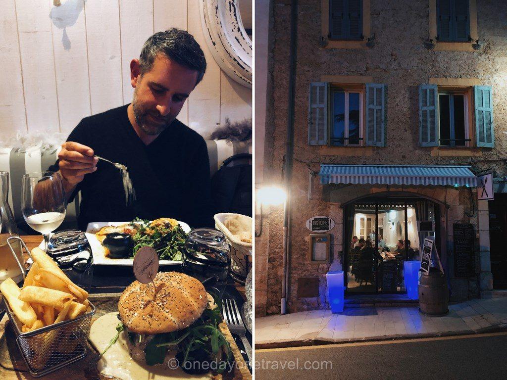 Restaurant Histoire sans faim à Montauroux