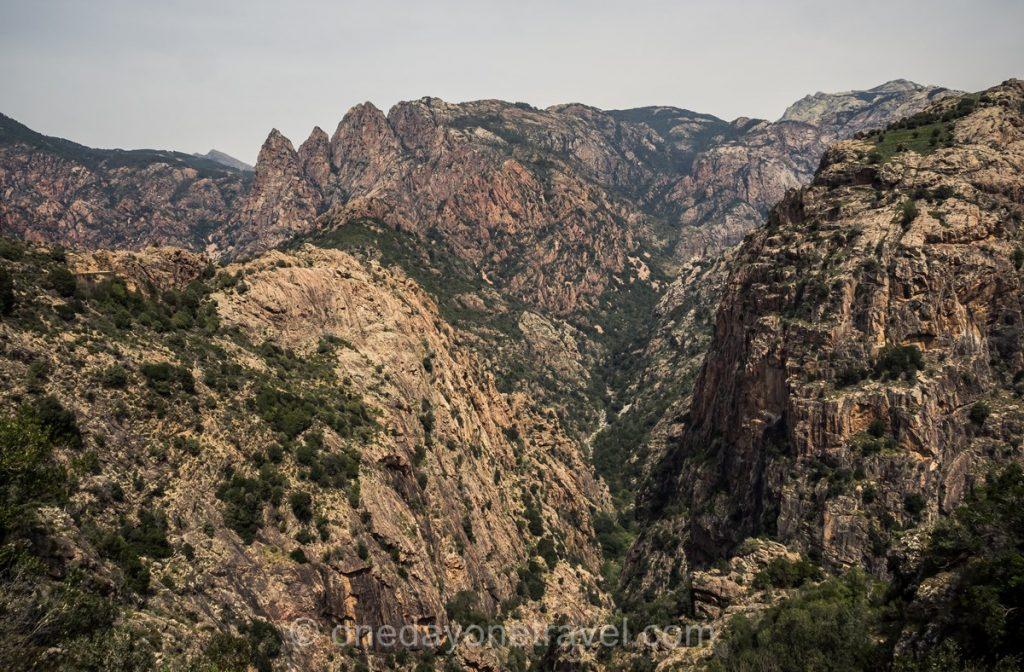 Montagnes de l'ouest Corsica - Evisa