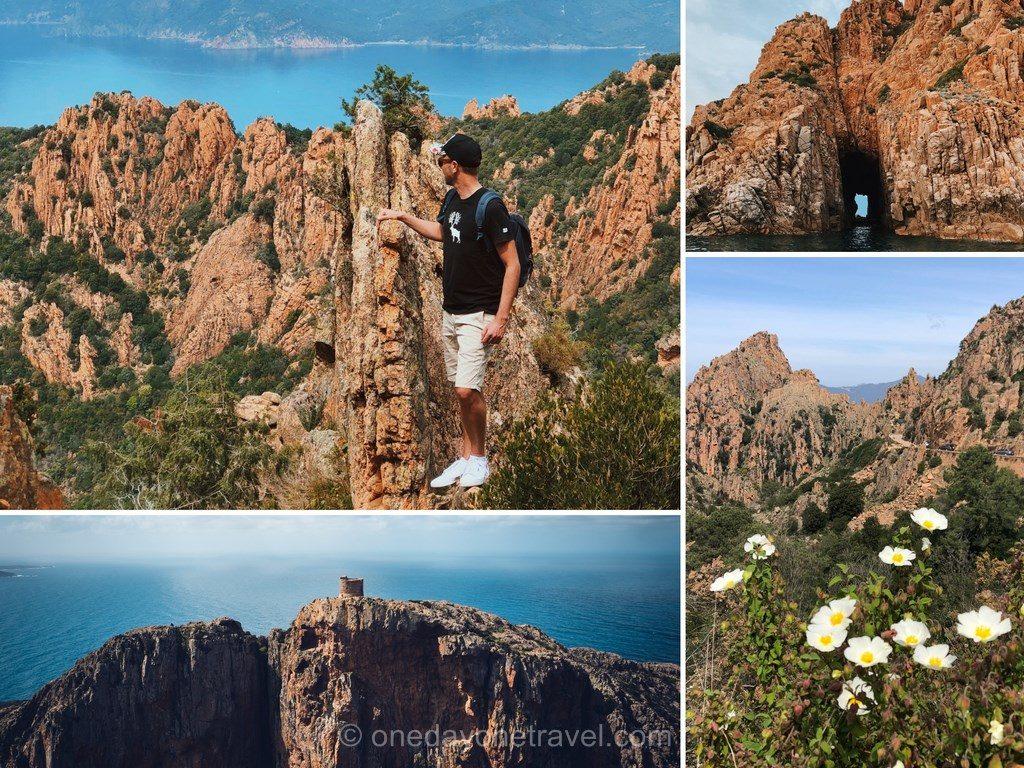 Calanques de Piana en Ouest Corsica