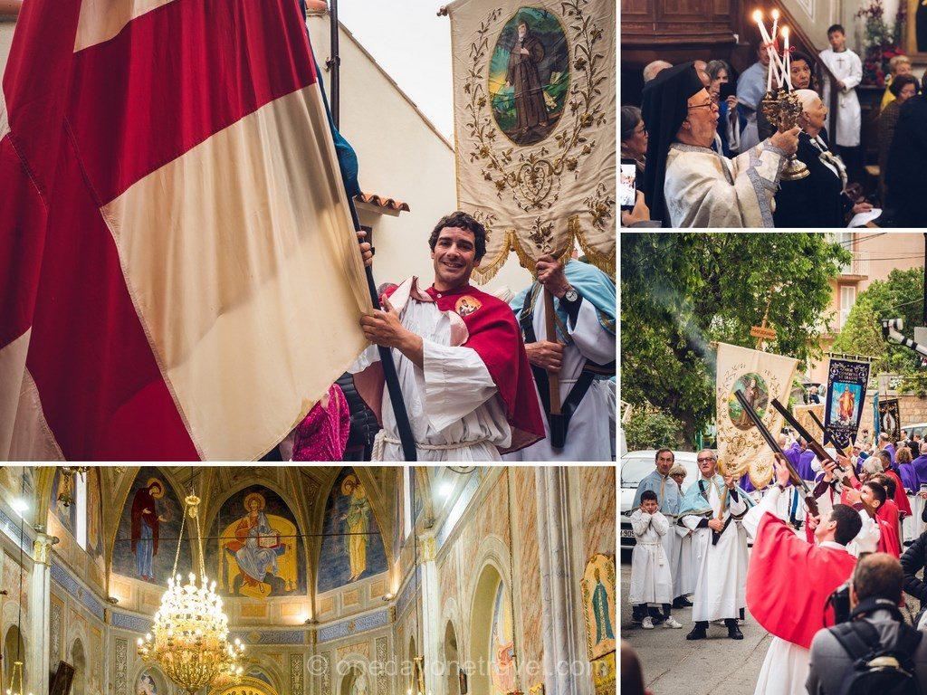 Célébrations de Pâques à Cargèse
