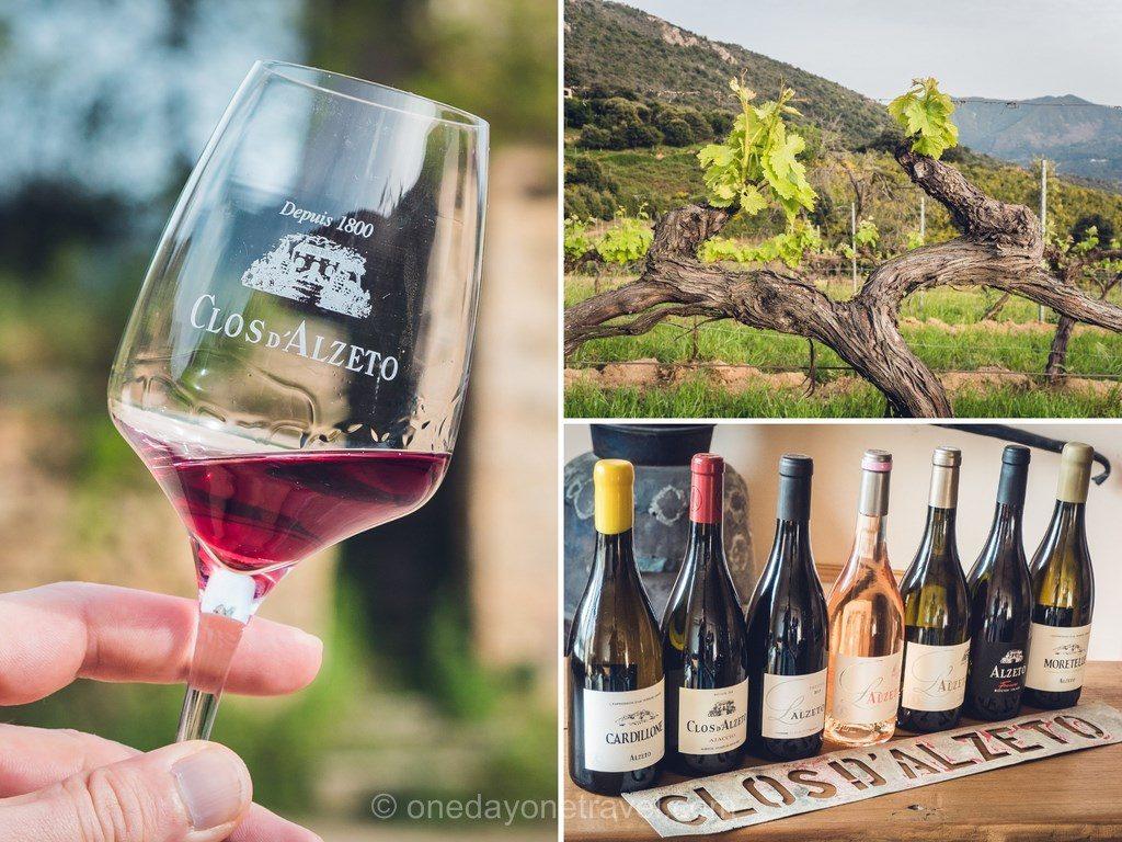 Clos Alzeto vignoble Corse Ouest Corsica