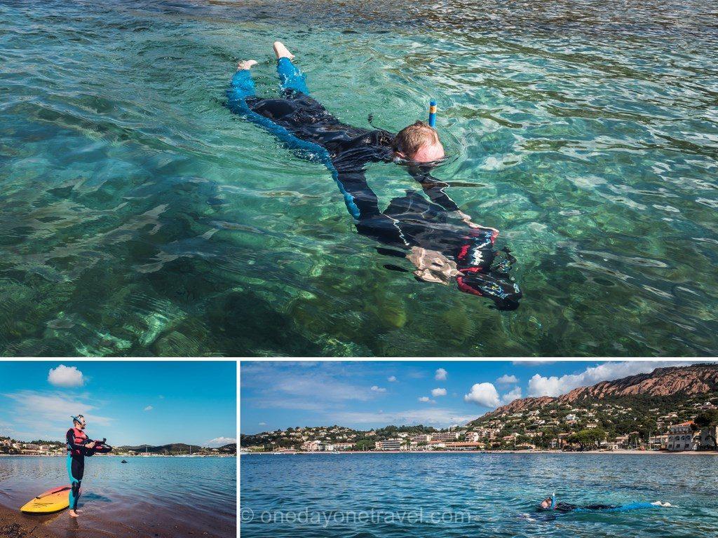 Scooter sous-marin Agay Estérel Côte d'Azur