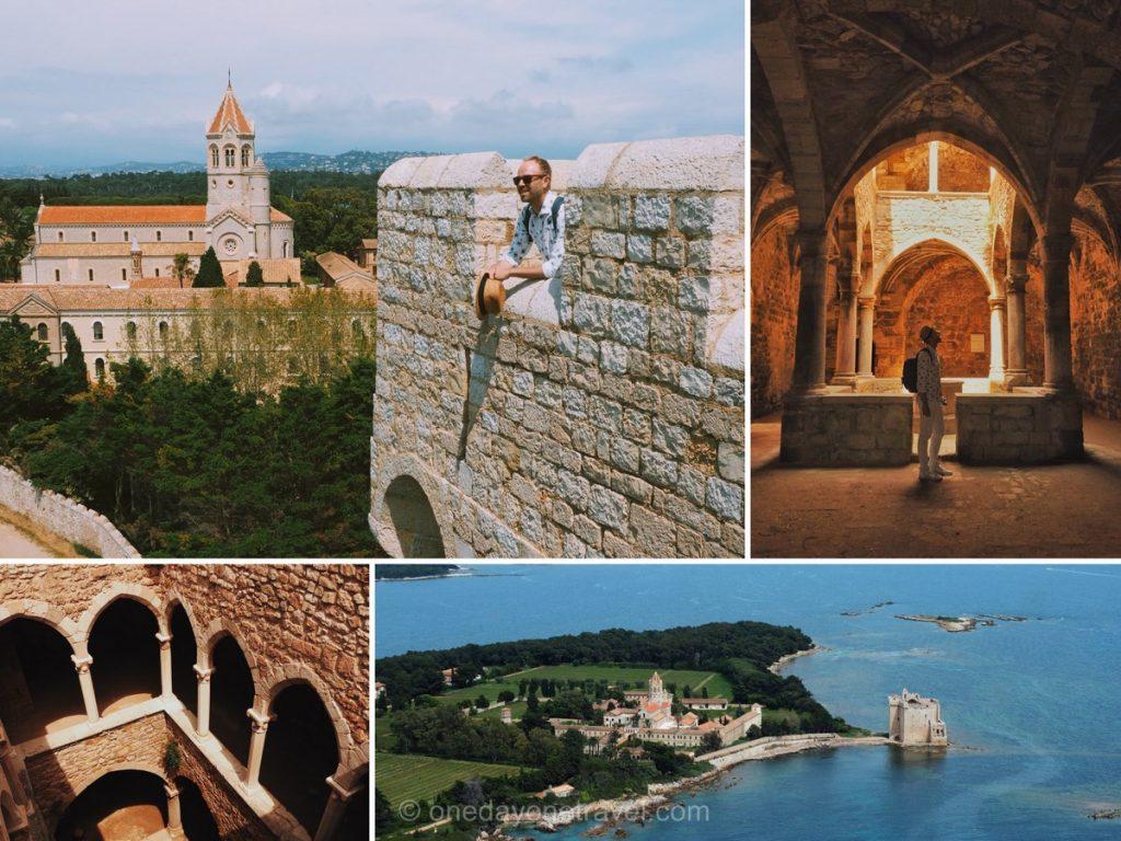 Road trip dans le sud de la France Ile Saint Honorat  Monastère fortifié