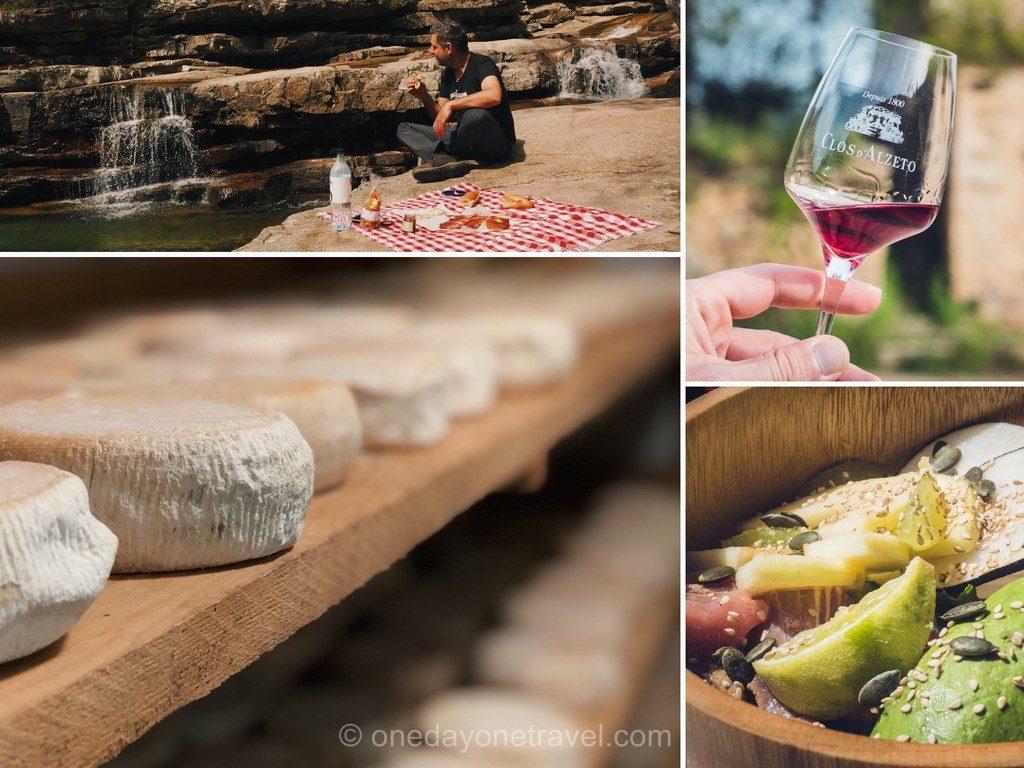 Gastronomie dans l'ouest de la Corse