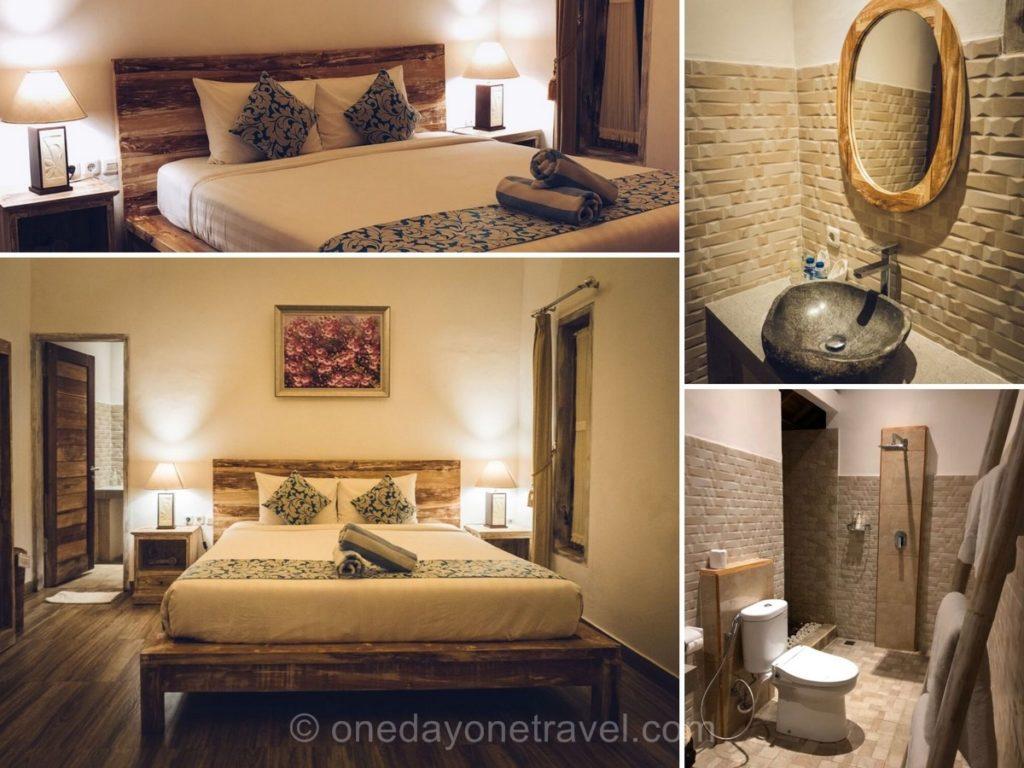Chambres du Bukal Sari villas à Uluwatu - Où dormir à Bali ?