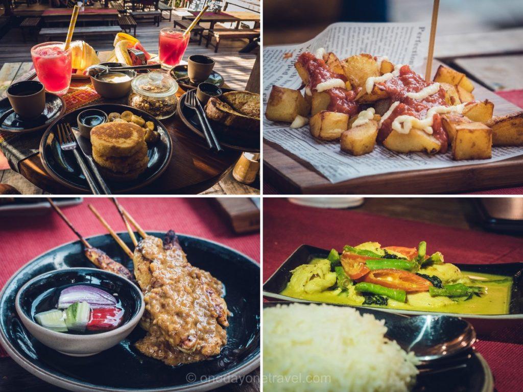 Koh Lipe Castaway resort petit déjeuner et repas